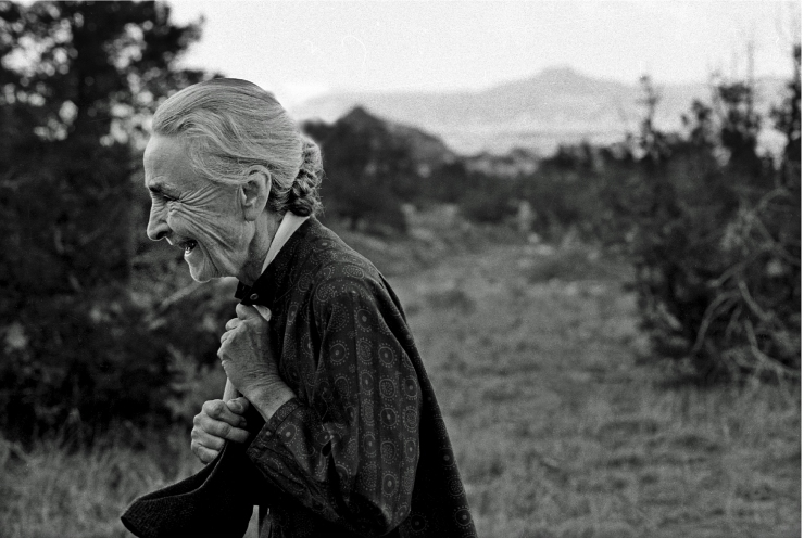 O'Keeffe At Ghost Ranch