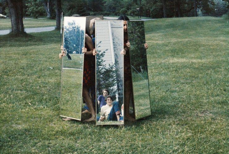Joan Jonas mirror